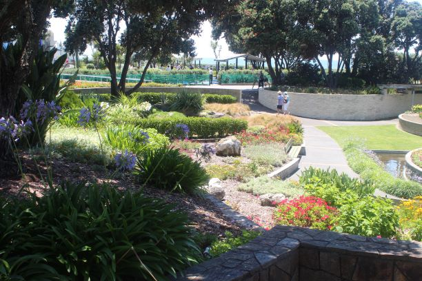 Sunken Garden, Napier, New Zealand