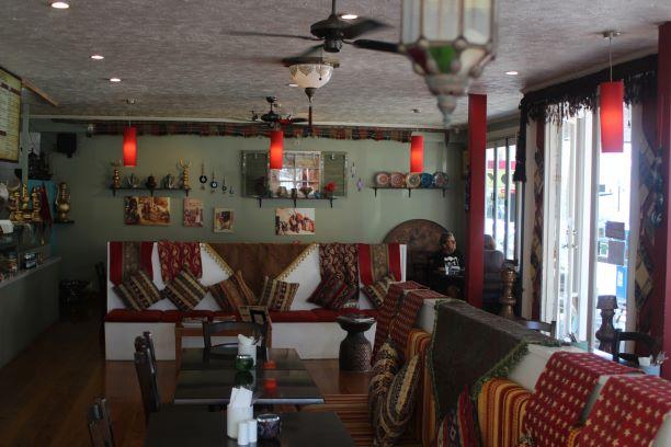 Kilim Turkish Cafe, Napier, New Zealand (photo: Brent Petersen)