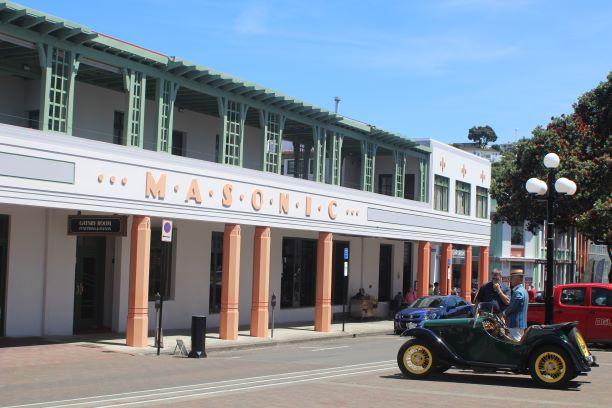 Masonic Hotel, Napier, New Zealand (photo: Brent Petersen)