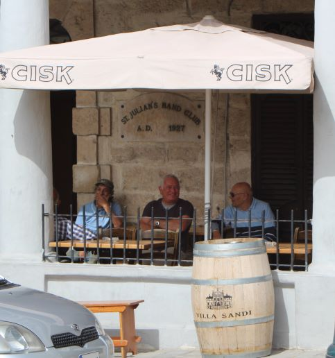 Grab a Cisk at St. Julian's Band Club in Malta (photo: Brent Petersen)