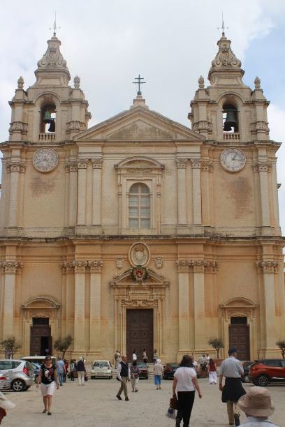 St. Paul Cathedral, Mdina, Malta (photo: Brent Petersen)