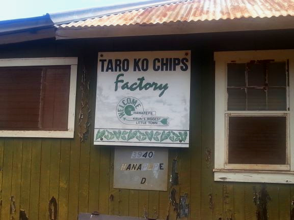 Taro Ko Chips Factory, Kauai, Hawaii (photo: Brent Petersen)