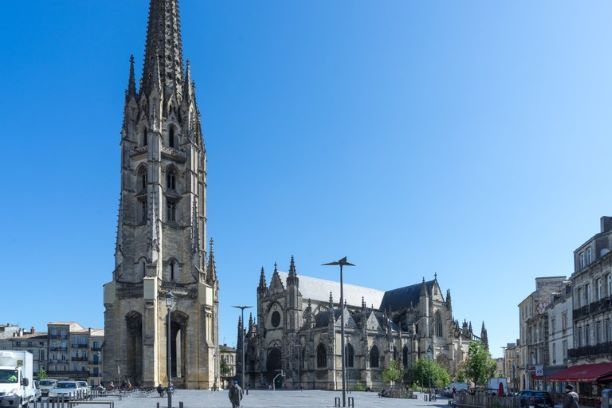 Basilique Saint Michel, Bordeaux, France