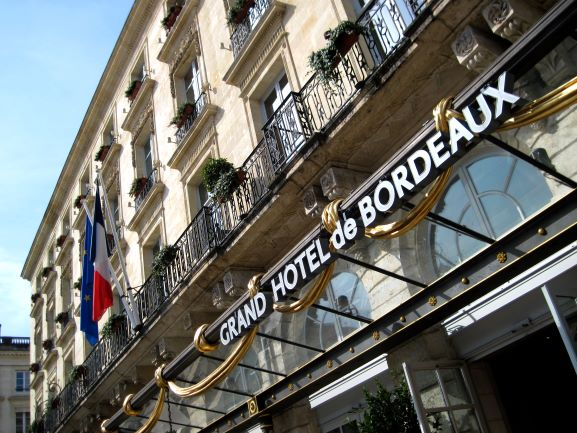 Grand Hotel, Bordeaux, France (photo courtesy of Scott Petersen)