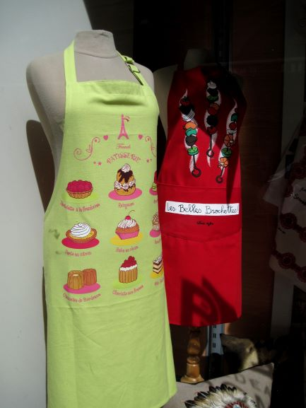 Aprons in Bordeaux, France (photo courtesy of Scott Petersen)