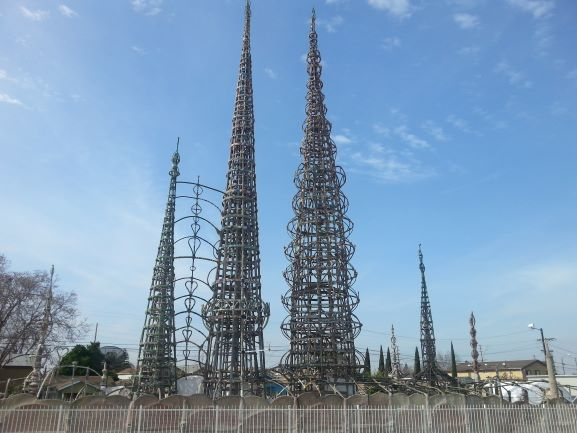 Watts Tower, Watts, CA (Photo: Brent Petersen)
