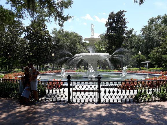 Forsyth Park, Savannah (photo: Brent Petersen)