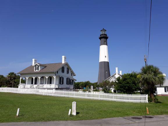 Tybee Island lighthouse (photo: Brent Petersen)