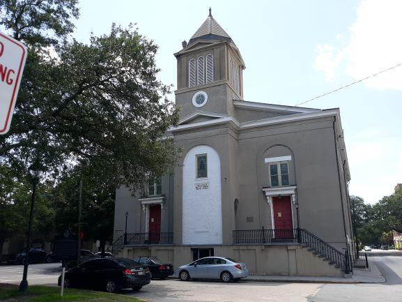 First African Baptist Church, Savannah (photo: Brent Petersen)
