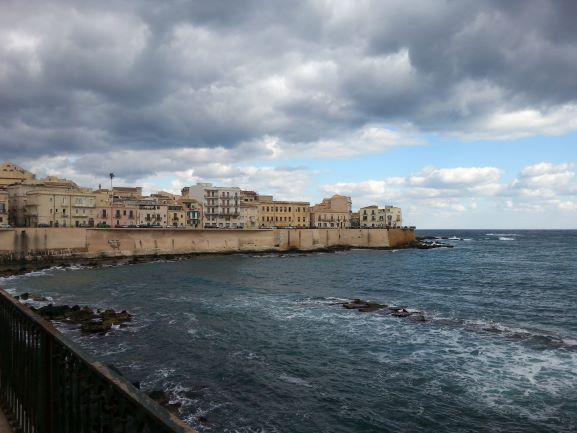 View of Ortigia from the promenade (Photo: Brent Petersen)