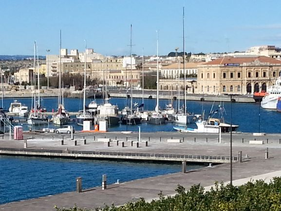 Ortigia Marina (Photo: Brent Petersen)