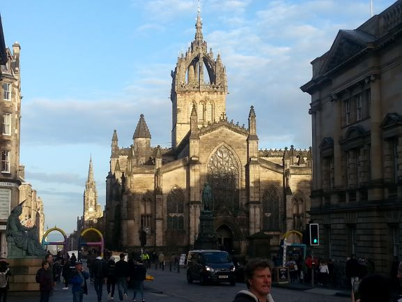 St. Giles Cathedral (Photo: Brent Petersen)