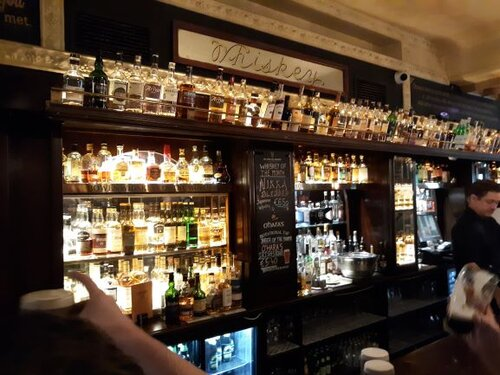 Bowe's has a great selection of Whiskey (photo: Brent Petersen)