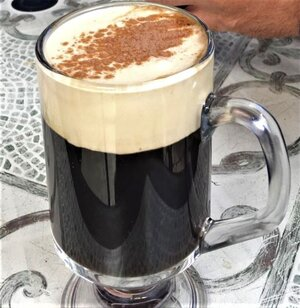 Irish Coffee (photo: Brent Petersen)