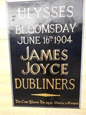 Celebrating Bloomsday in Dublin (photo: Brent Petersen)