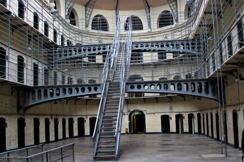Dublin's Kilmainham Gaol (Jail). (photo: Brent Petersen)