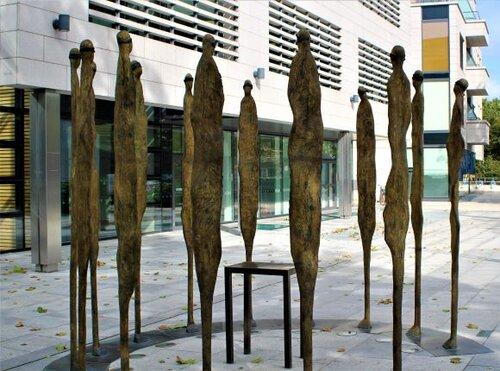 "Rowan Gillespie's ""The Proclamation Sculpture."" (photo: Brent Petersen)"