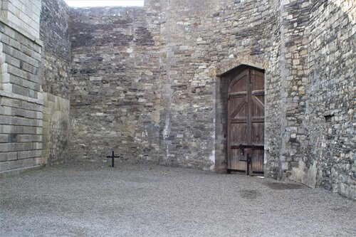 Courtyard at Kilmainham where many Easter Rising executions were carried out (photo: Brent Petersen)