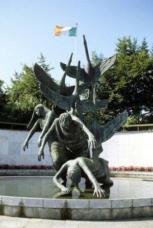 Garden of Remembrance  (photo: opwdublincommemorative.ie)