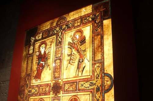 Book of Kells exhibition at Trinity College (photo: Brent Petersen)