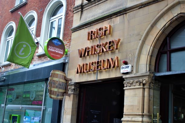 Irish Whiskey Museum (photo: Brent Petersen)