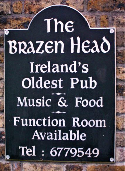 The Brazen Head (photo: Brent Petersen)