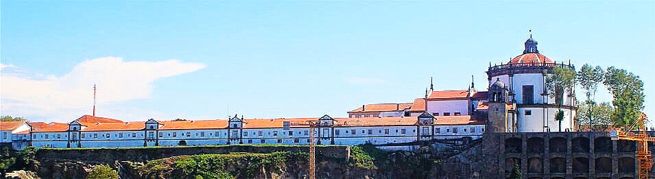 Serra do Pilar Monastery, Vila Nova de Gaia, Portugal (photo: Brent Petersen)
