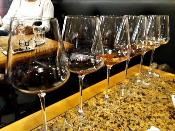 Glasses of Porto's famous Port Wine (photo: Brent Petersen)