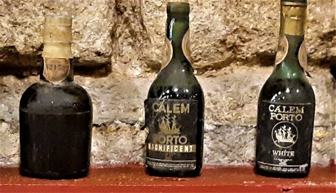 Old bottles of Port (photo: Brent Petersen)