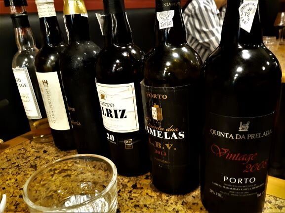 Getting ready for a tasting at Portologia (photo: Brent Petersen)