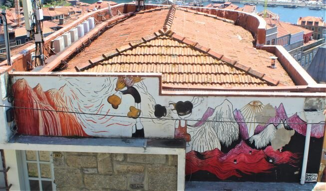 Street art in Porto (photo: Brent Petersen)