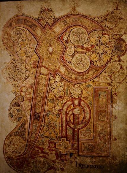Book of Kells (photo: Brent Petersen)