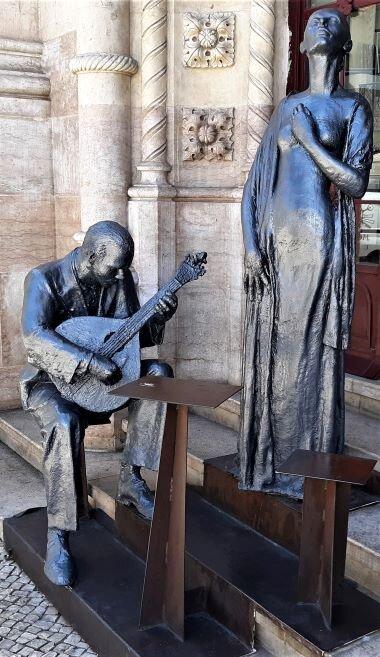Fado statue, Lisbon (Photo: Brent Petersen)