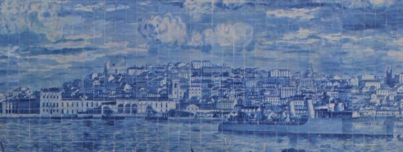 Azulejos mural at Miradouro de Santa Luzia (Photo: Brent Petersen)