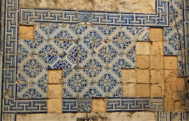 Some tile installations are sadly falling apart in Lisbon (Photo: Brent Petersen)