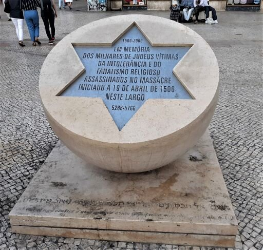 Memorial to the Victims of the 1506 Massacre of Jews (Photo: Brent Petersen)