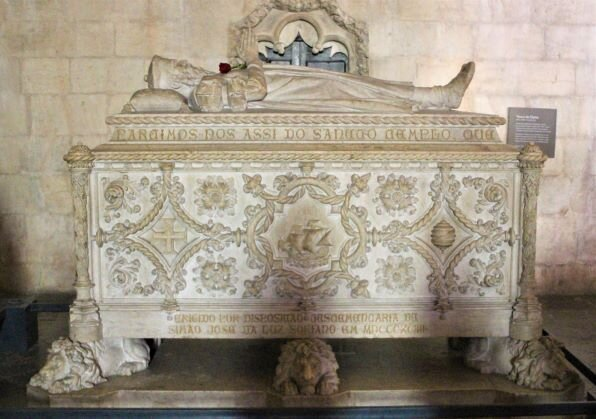 Vasco de Gama's final resting place at Jerónimos Monastery (Photo: Brent Petersen)