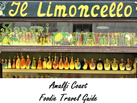 Limoncello,   Frittelle di Alghe, and Hair-Raising Roads