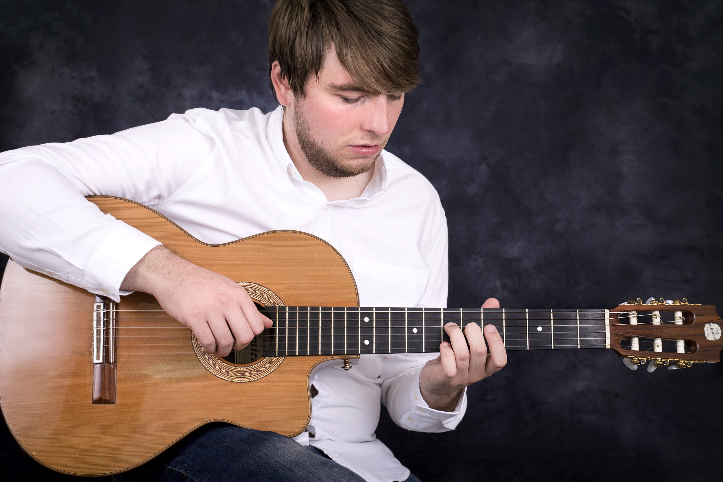 Oliver - Oliver graduated with a first-class degree in popular music at Leeds College of Music in 2014. As a teenager, he achieved Grade 8 Distinction in both Electric and Classical Guitar. Oliver performs with 'Fragile' (Yes Tribute Band), 'That Joe Payne' (best male vocalist voted by Prog Magazine) and works alongside composer John Holden on collaborative music with respected Progressive Rock musicians.
