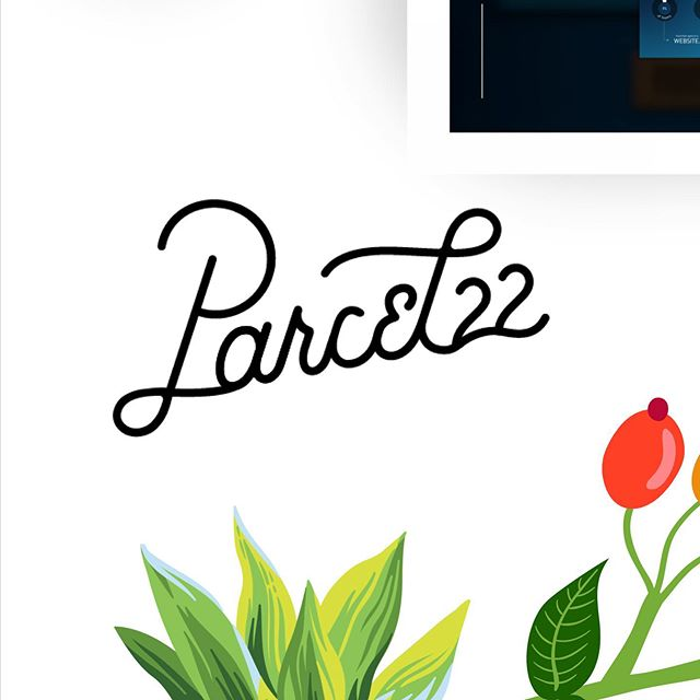 There's realllllllllly nothing better than a good custom monoline font, AMIRIGHT? 🤓 Nerding out over this logo for a friend who is launching a killer unlimited subscription fashion box called Parcel22. Can't wait to see how all our brand work unfolds!! @lalatasha11 @parcel22