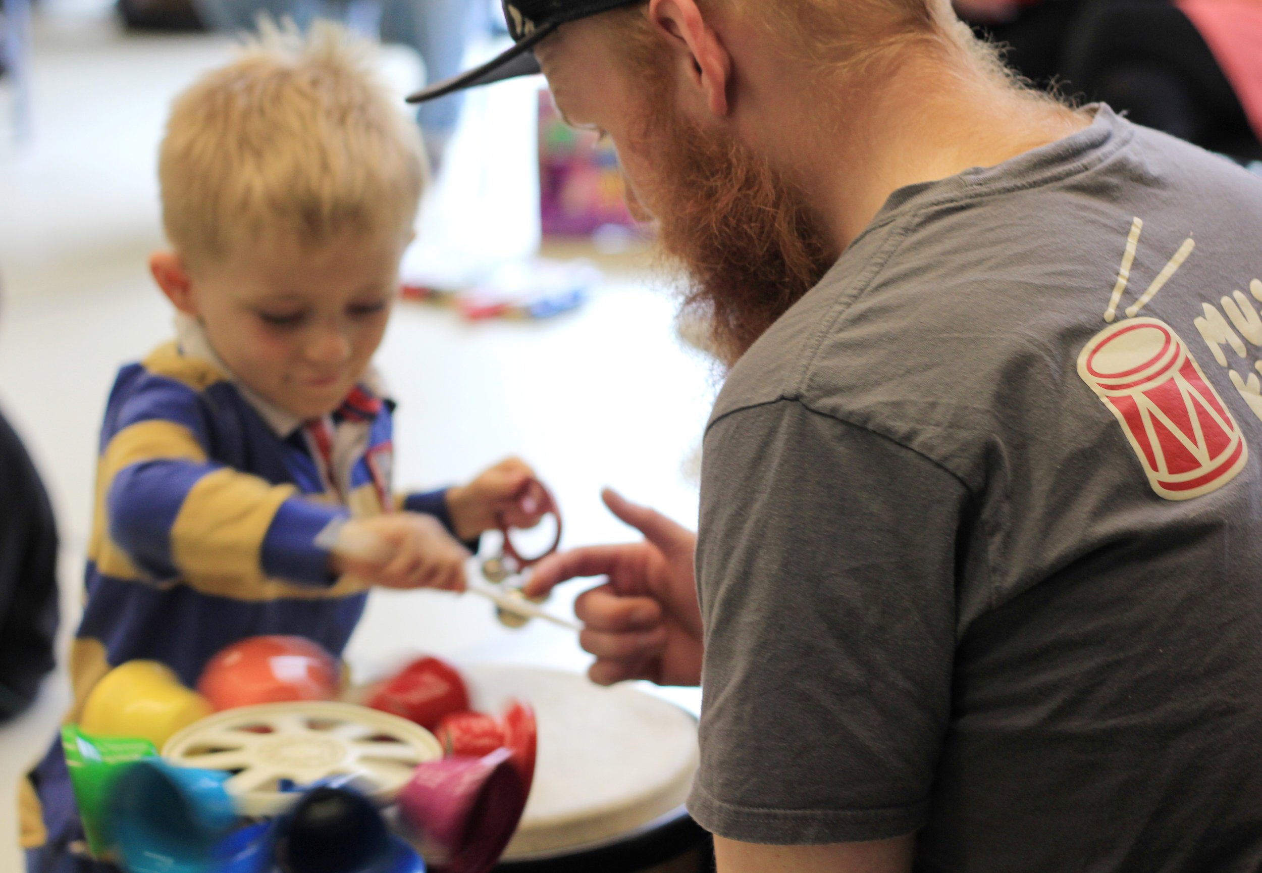 What our volunteers say - ''I started with Musical Keys in May of last year and it is undoubtedly the best thing I have ever done.There is nothing better than seeing youngsters engaging in music and movement and communicating through it too''