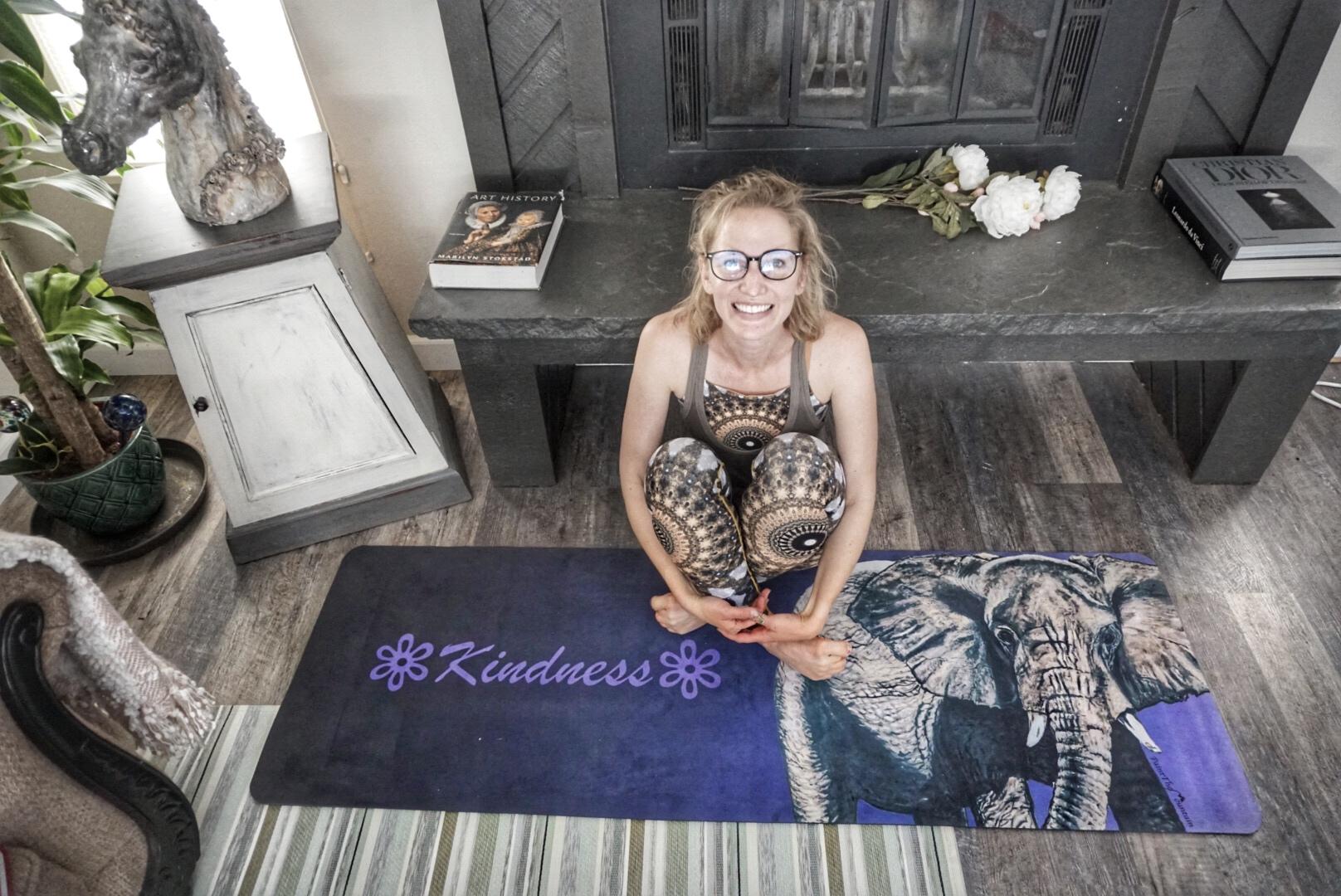 Kindness Yoga Mat