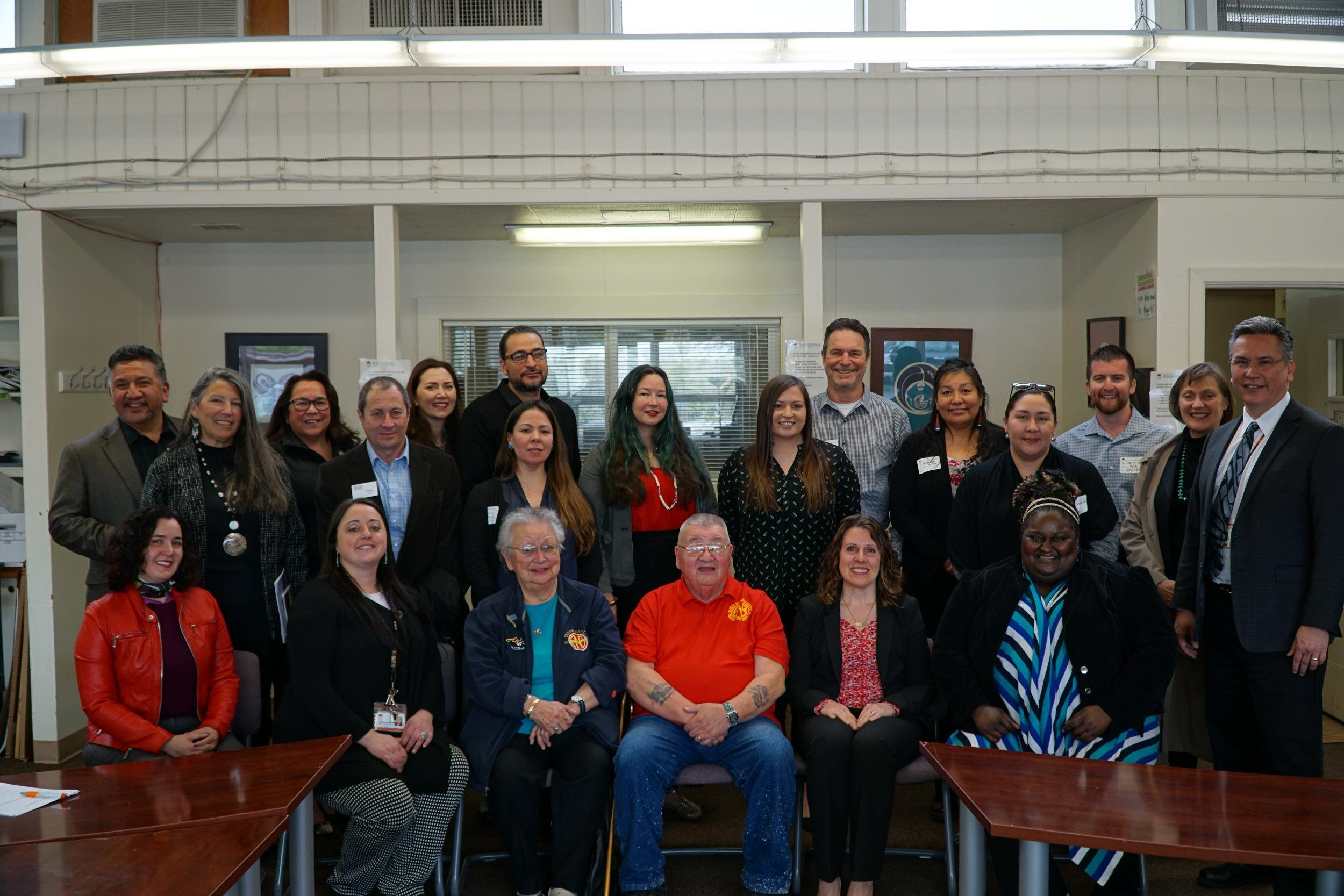 PORTLAND INDIAN LEADERS ROUNDTABLE - Meeting with Multnomah County Chair Deborah Kafoury.