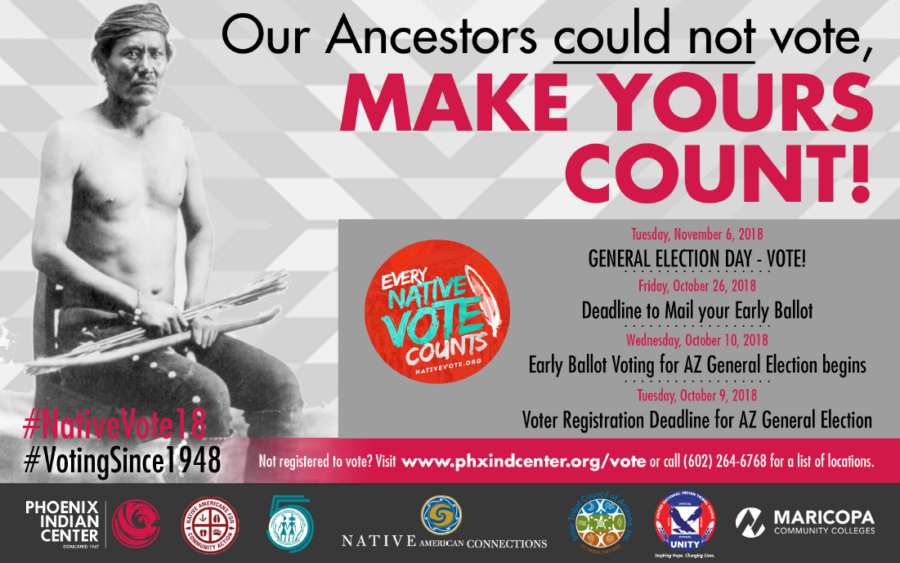 key voter registration dates for arizona - Get Out the Native Vote! Register to Vote with the Phoenix Indian Center! Wednesday, October 10, 2018 – Early Voting Begins for Arizona General ElectionTuesday, November 6, 2018 – ELECTION DAY!!