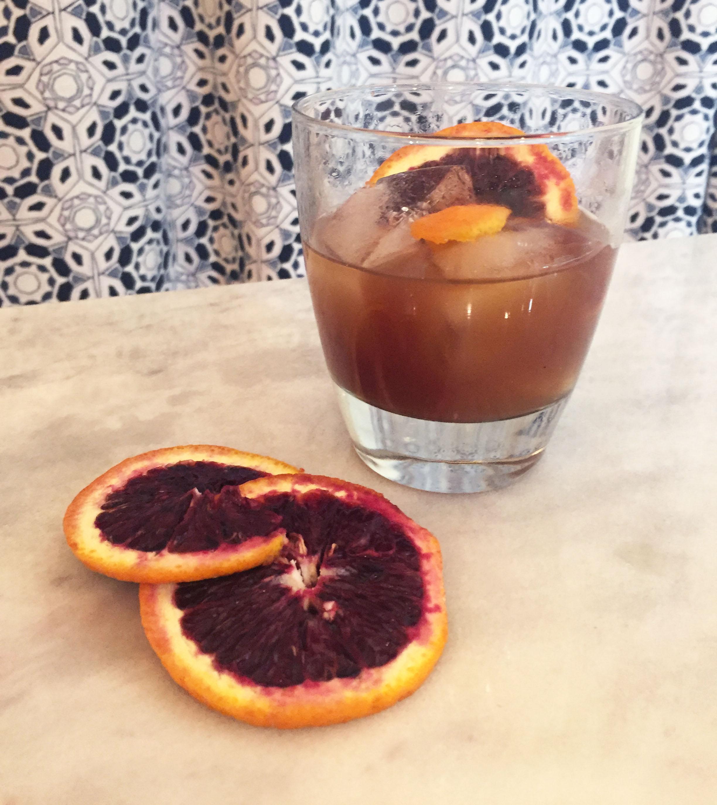 Blood Orange Old Fashioned Recipe