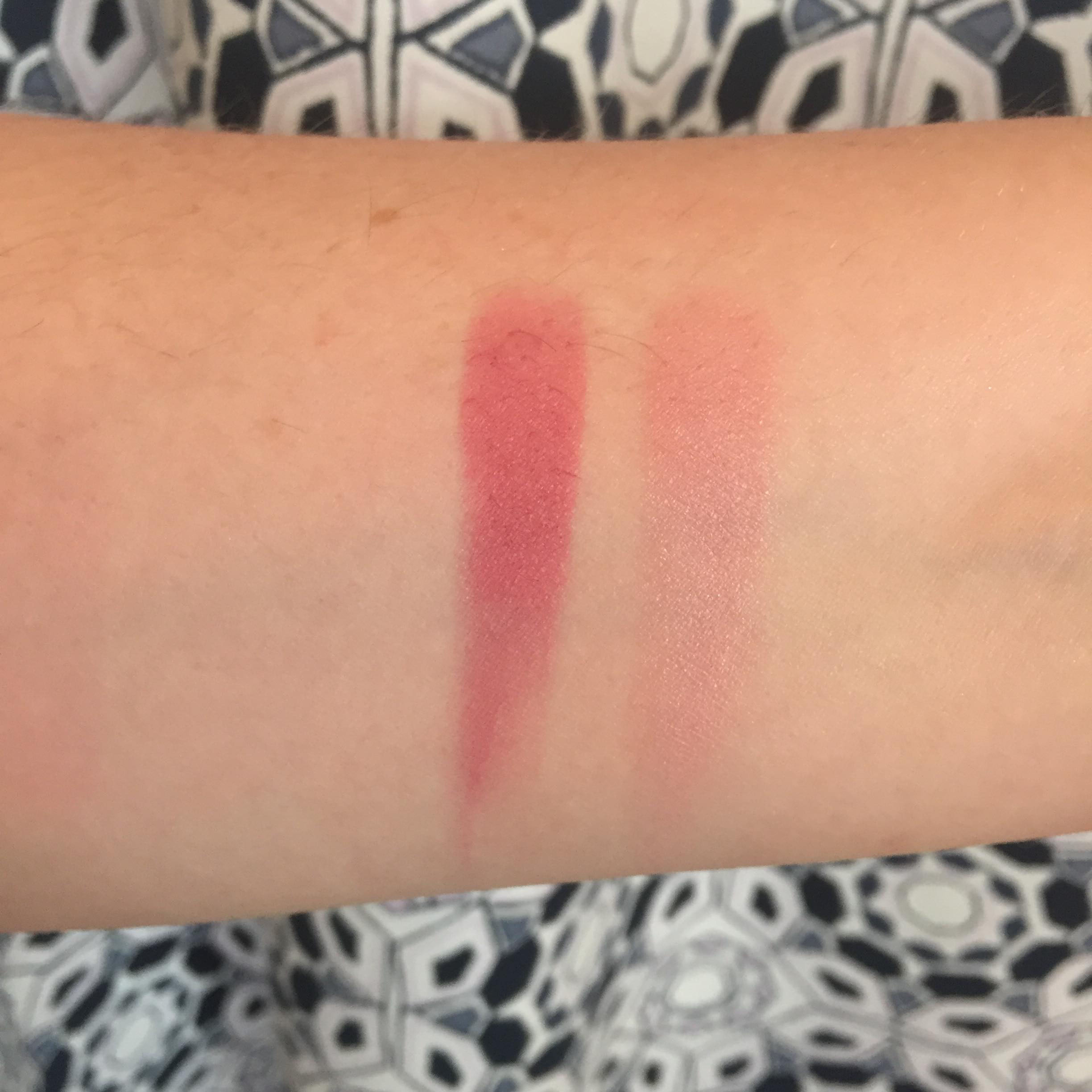 Jouer Blush Duo in Coquette Swatch - my favorite spring blushes