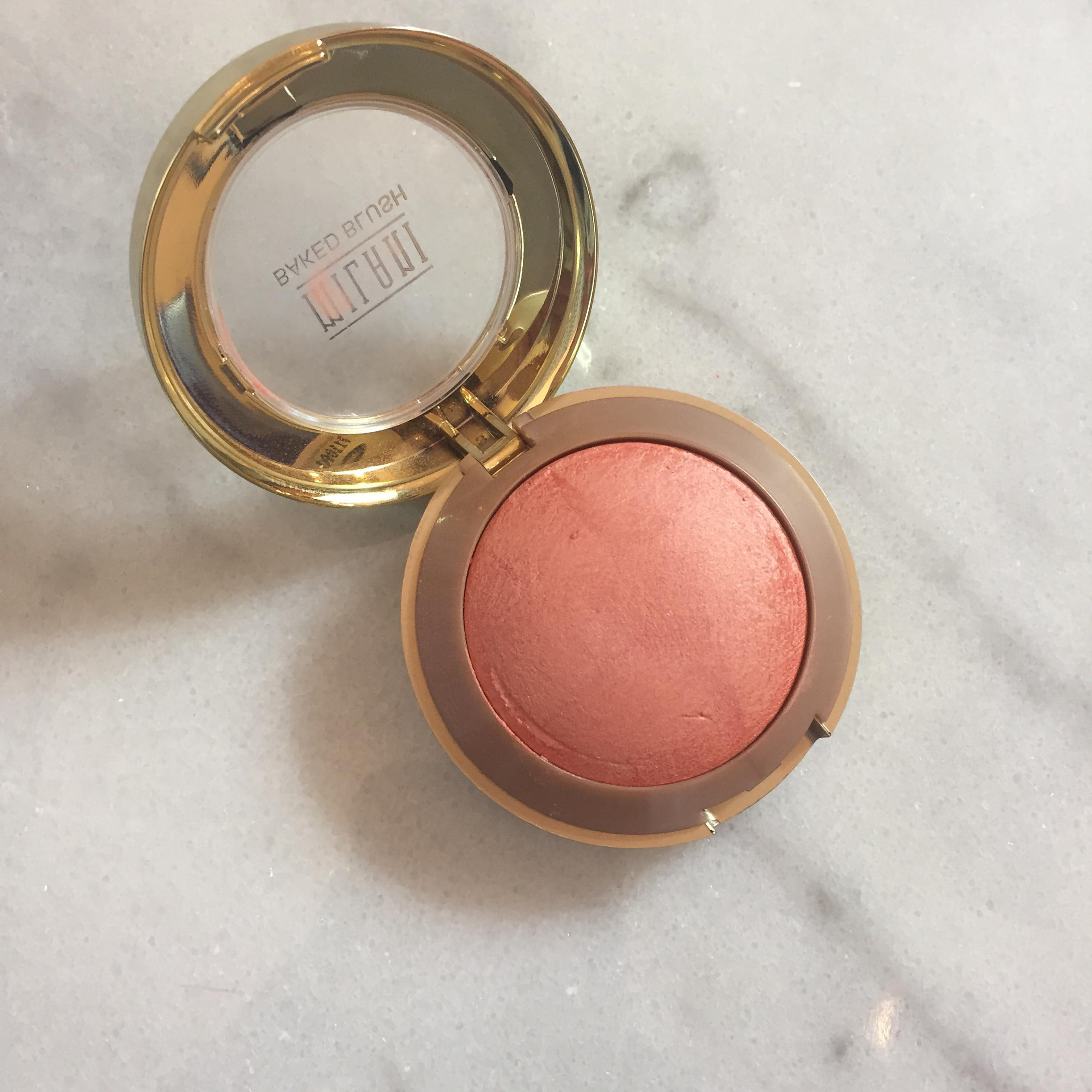Milani Baked Blush in Luminoso - my favorite spring blushes