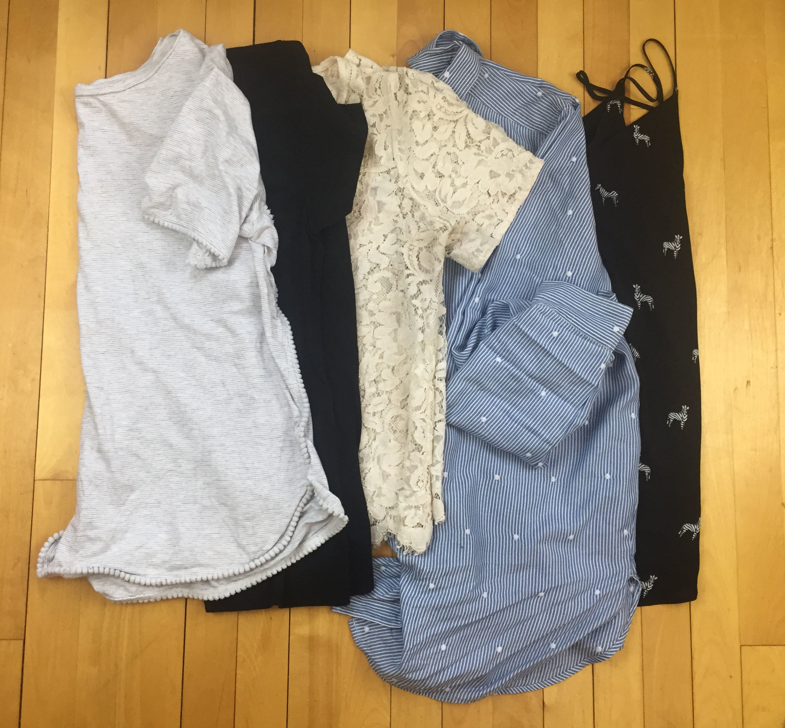 Tops - 1 week in a Carry-On | Laurel and Iron