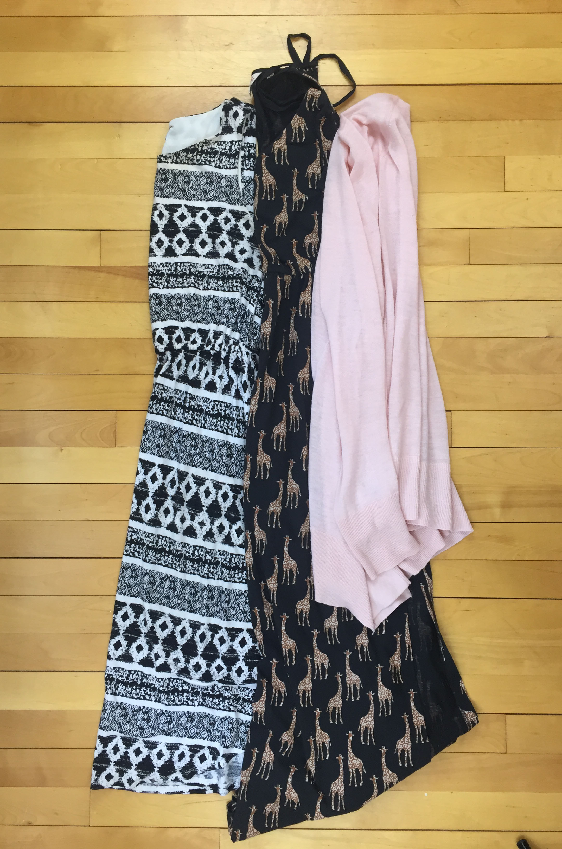Dresses and Cardigans - 1 week in a Carry-On