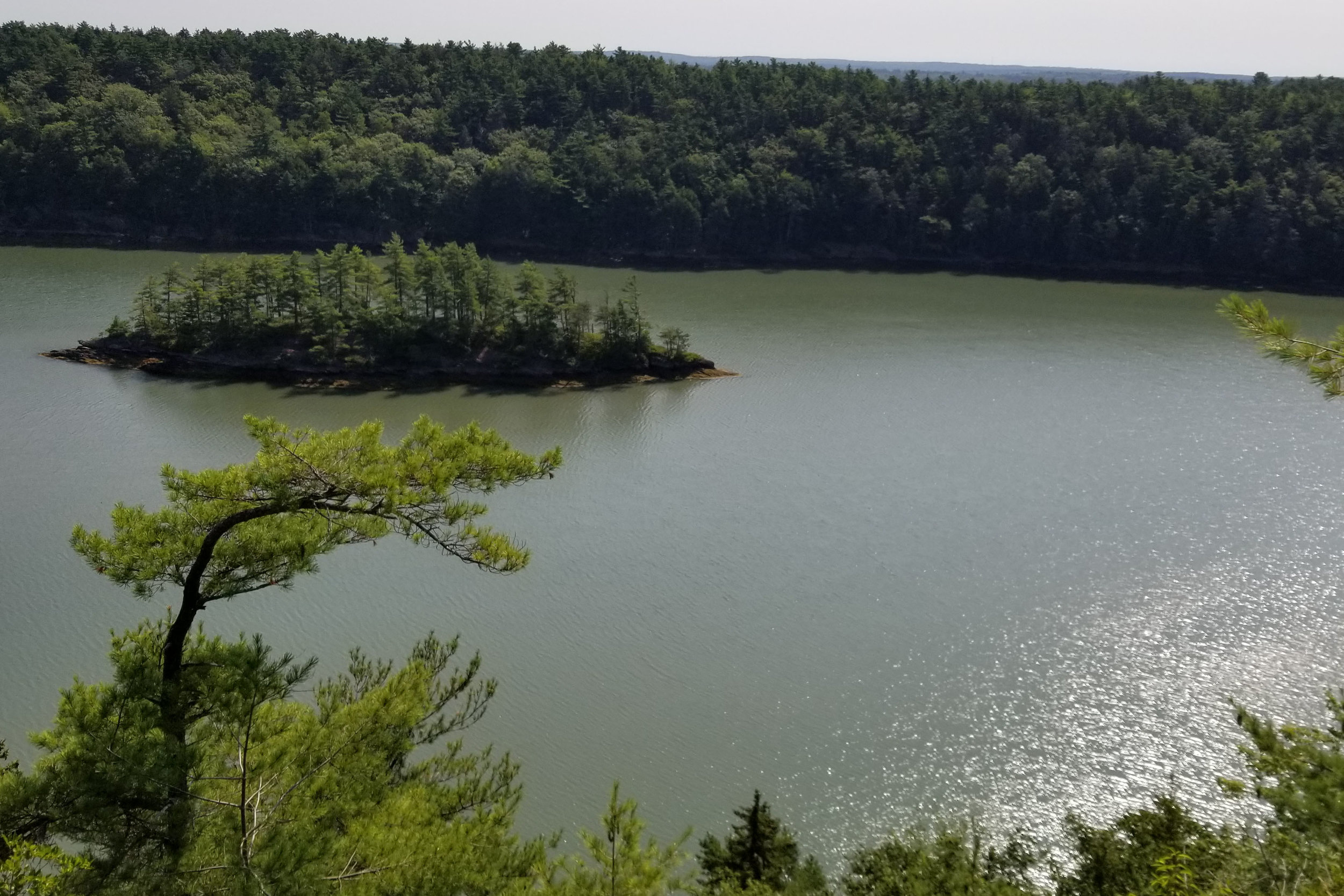 Harpswell Cliff Trail and Long Reach Mountain Trail - Harpswell, Maine Hiking | Laurel and Iron